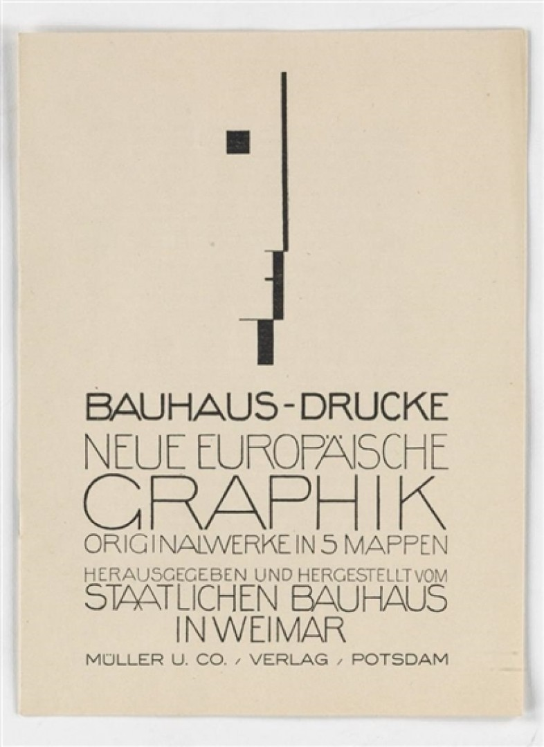 Sorgen und Freuden einer Verlegerin – Irmgard Kiepenheuer und das Bauhaus}